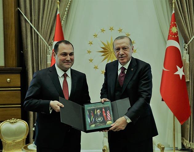 Gürcistan'ın Yeni Büyükelçisi'den Güven Mektubu