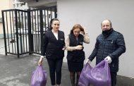 Gürcistan Batum da Girişimciden Ücretsiz Maske!