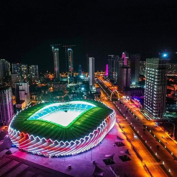 Yeni Batum Stadı Gün Sayıyor/ როგორ გამოიყურება ბათუმის საფეხბურთო სტადიონი