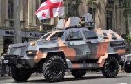 Gürcistan Ordusunda İlkez Kez Yerli Üretim Zırhlı...!