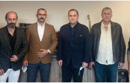 Giorgi janjgava Kartvel Gürcü Laz Kültür Derneği'nde