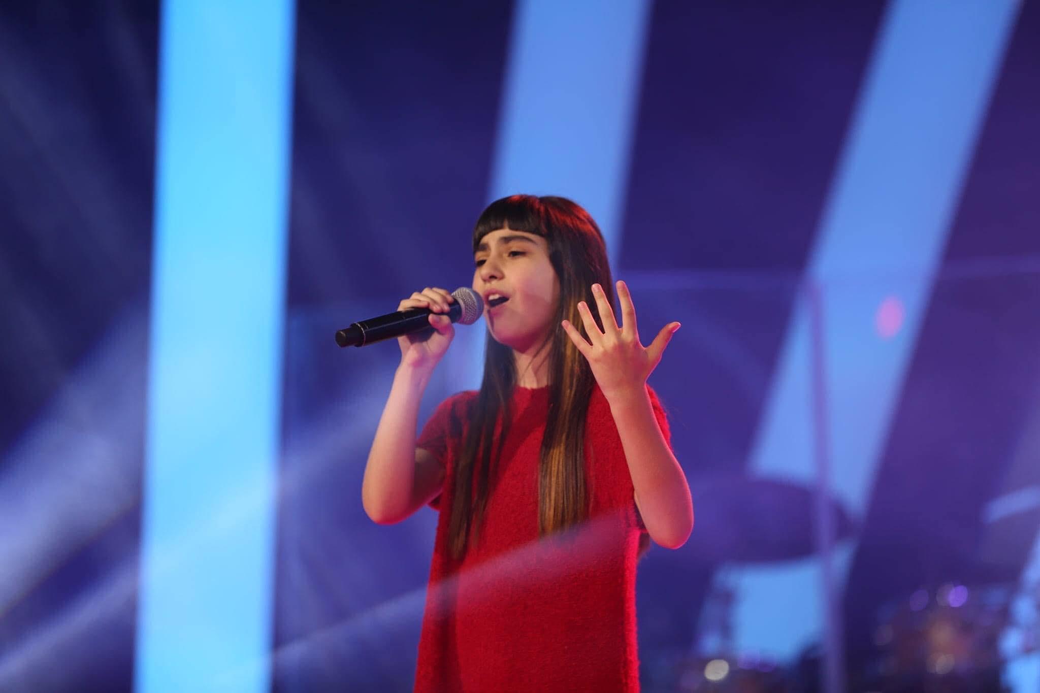 Eurovision 2020 de Gürcistan'ı on yaşındaki Sandra Gadelia temsil edecek