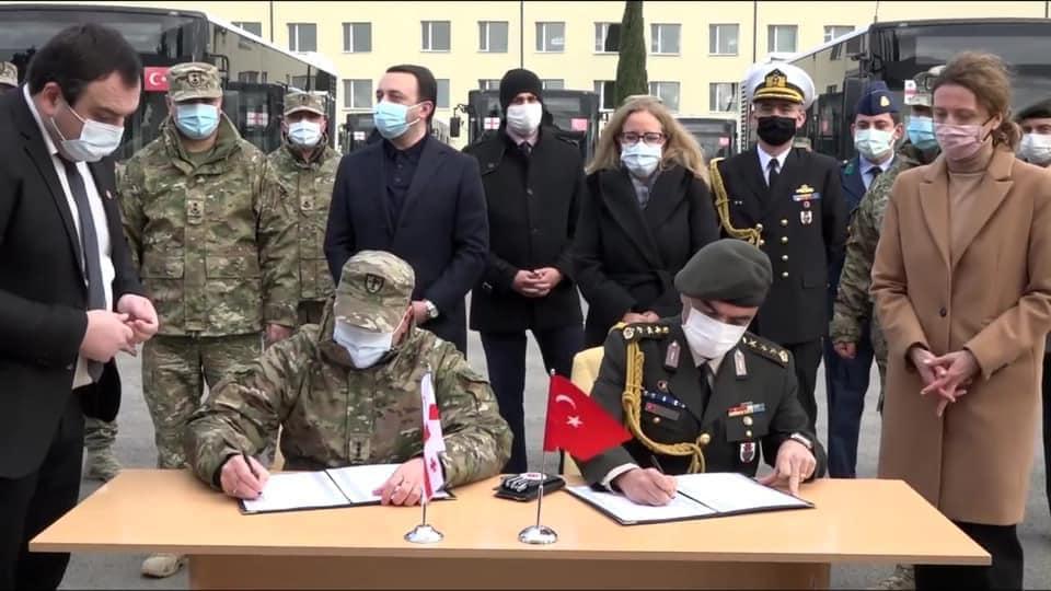 Türkiye Ve Gürcistan İşbirliği..