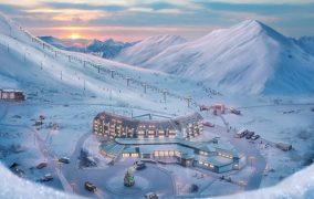 Gürcistan'ın Gudauri kayak merkezi Avrupa'nın en iyi 10 kayakmerkezinden biri..