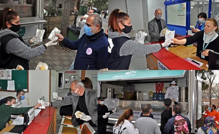 Beykoz'da Sağlık Çalışanlarına ყველიანი ქადა (Peynirli Kete) İkramı!