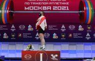 Moskova'da Gürcü Milli Marşını Dinleten Şampiyon